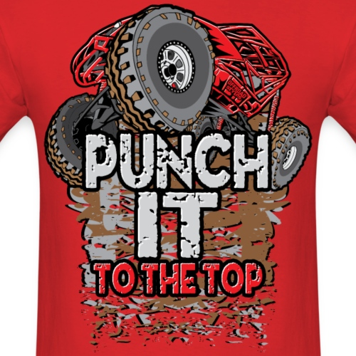 Rock Bouncer Punch It Red