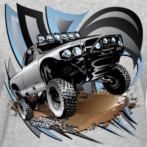 Trophy Race Truck Grey Women's T-Shirts - Women's T-Shirt