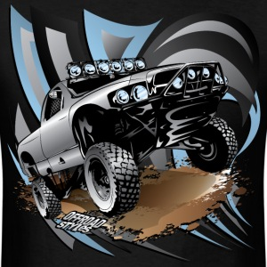 Trophy Race Truck Grey T-Shirts - Men's T-Shirt