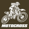 Motocross Logo White T-Shirts - Men's Premium T-Shirt