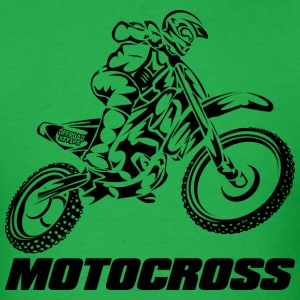 Motocross Logo Black T-Shirts - Men's T-Shirt