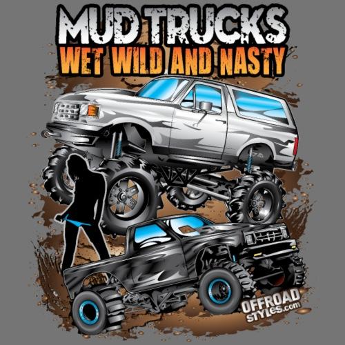 Mega Mud Truck Bunch