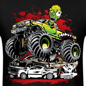 Ghoulish Monster Truck T-Shirts - Men's T-Shirt