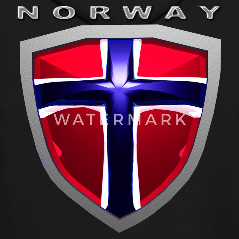 Norway Shield Hoodies - Men's Hoodie