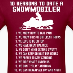 10 Reasons To Date A Snowmobiler