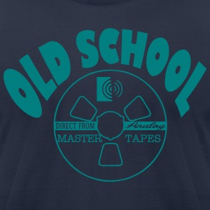 magnetic tape T-Shirts - Men's T-Shirt by American Apparel