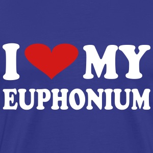 I Love My Euphonium - Men's Premium T-Shirt