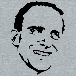 Boris vian T-Shirts - Unisex Tri-Blend T-Shirt by American Apparel