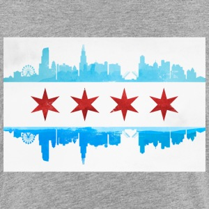 CHICAGO SKYLINE FLAG Baby & Toddler Shirts - Toddler Premium T-Shirt