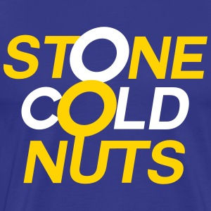 Stone Cold Nuts - Royal Blue Tee 2 - Men's Premium T-Shirt