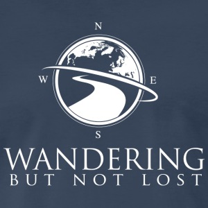Wandering But Not Lost Logo T - Men's Premium T-Shirt