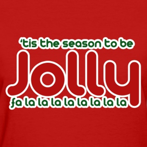 Jolly Christmas - Women's T-Shirt