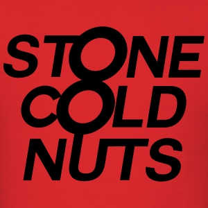 Stone Cold Nuts - Red Shirt - Men's T-Shirt