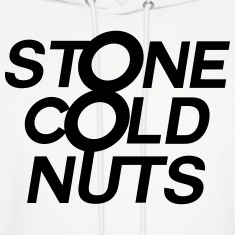 Stone Cold Nuts - White Hoodie