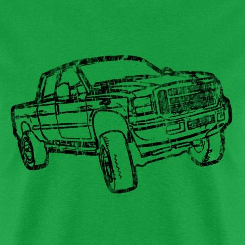 Ford Truck F250 Distressed