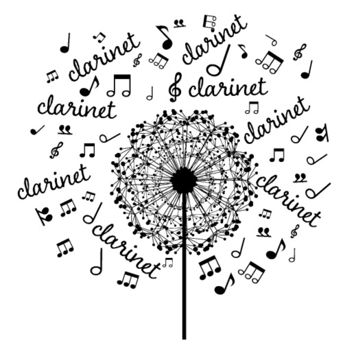 Clarinet Music Notes Band
