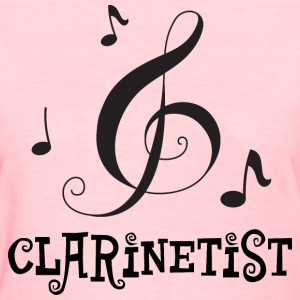 Clarinetist Clarinet Player Music Gift Women's T-Shirts - Women's T-Shirt