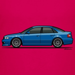 Audi A4 Quattro B5 Sedan (Nogaro Blue) Baby & Toddler Shirts - Toddler Premium T-Shirt