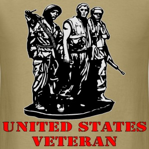 United States Veteran  - Men's T-Shirt