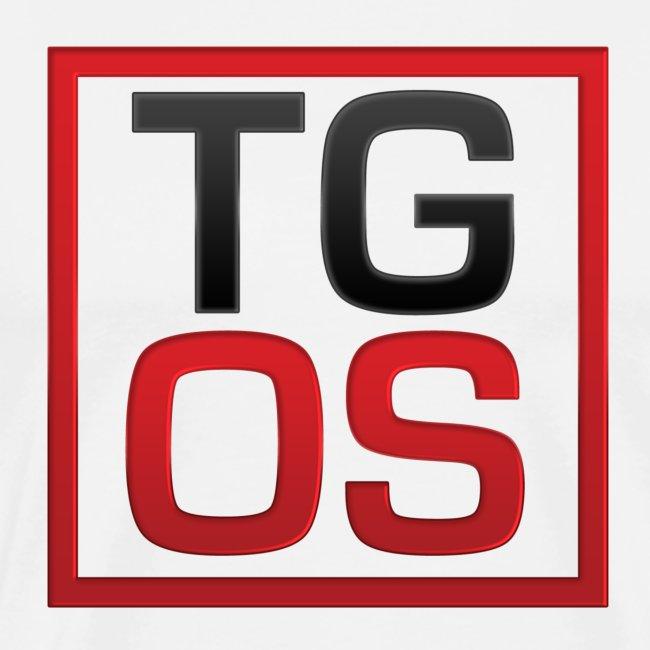 Men's White TGOS Tee