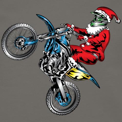 Motocross Santa Claus