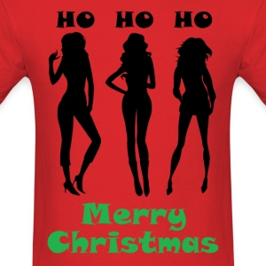 Ho Ho Ho Merry Christmas T-Shirts - Men's T-Shirt