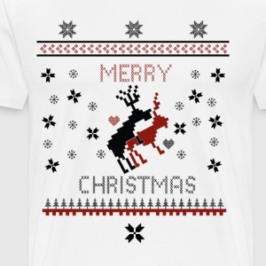 Merry Fuck Christmas T-Shirts - Men's Premium T-Shirt