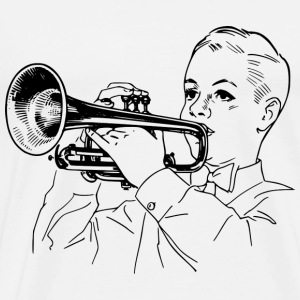 Trumpet Player T-Shirts - Men's Premium T-Shirt