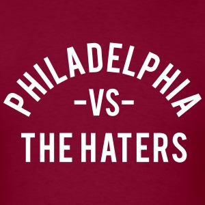 Philadelphia vs. the Haters T-Shirts - Men's T-Shirt