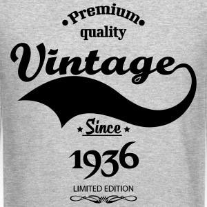 Premium Quality Vintage Since 1936 Limited Edition Long Sleeve Shirts - Crewneck Sweatshirt