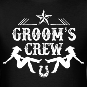 Groom's Crew T-Shirts - Men's T-Shirt