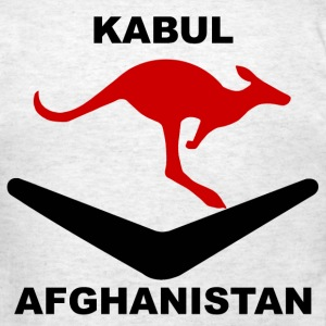 Kabul Red Roo T-Shirt - Gray - Men's T-Shirt