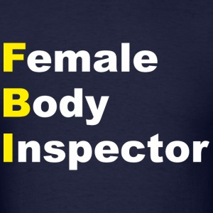 Limitless - Female Body Inspector - Men's T-Shirt