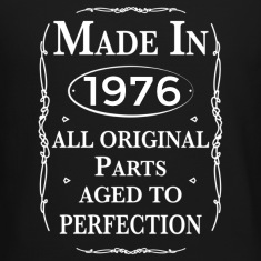 Made in 1976 Birthday Long Sleeve Shirts
