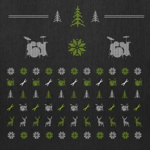 Ugly Xmas Drummer Bags & backpacks - Tote Bag