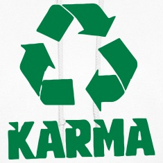 KARMA - LIFE RECYCLED! Hoodies