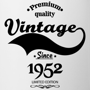 Premium Quality Vintage Since 1952 Limited Edition Mugs & Drinkware - Coffee/Tea Mug