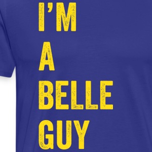 I'm a Belle Guy (blue/yellow) - Men's Premium T-Shirt