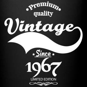 Premium Quality Vintage Since 1967 Limited Edition Mugs & Drinkware - Full Color Mug