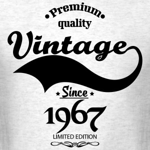 Premium Quality Vintage Since 1967 Limited Edition T-Shirts - Men's T-Shirt