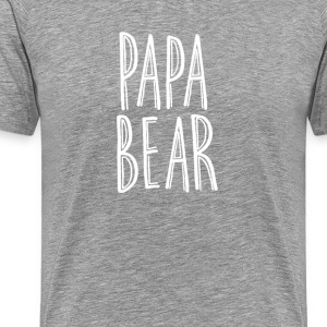 Papa Bear Tee - Men's Premium T-Shirt