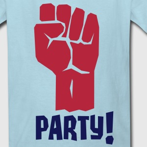 A Fistful of Party - Fight For Your Right To Party Kids' Shirts - Kids' T-Shirt