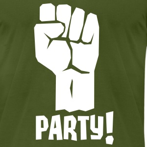 A Fistful of Party - Fight For Your Right To Party T-Shirts - Men's T-Shirt by American Apparel