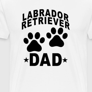 labrador_retriever_dad - Men's Premium T-Shirt