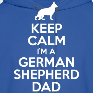 German Shepherd Dad Hoodies - Men's Hoodie