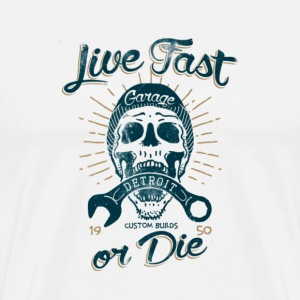 Live fast or die  - Men's Premium T-Shirt