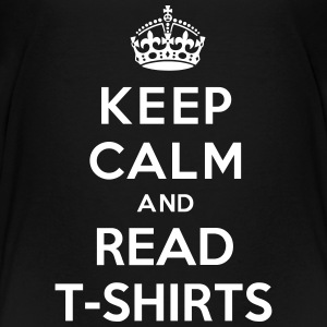 Keep Calm And Read T-Shirts Kids' Shirts - Kids' Premium T-Shirt