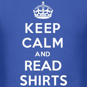 Keep Calm And Read Shirts T-Shirts - Men's T-Shirt
