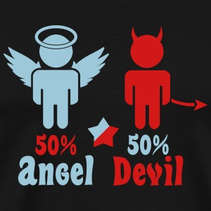 little angel, little devil T-Shirts - Men's Premium T-Shirt