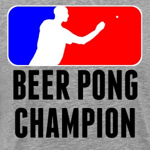Beer Pong Champion T-Shirt - Men's Premium T-Shirt